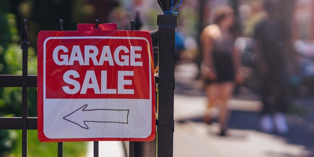 0e9f7f45c4c49c Mag je een garageverkoop (garage sale of yard sale) houden  En waarop je  moet letten!